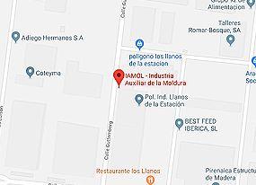 Localización. IAMOL - Industria Auxiliar de la Moldura