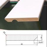 Rodapie 100×14 c/v Lacado Blanco Standard